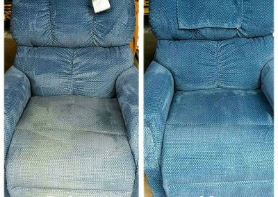 M.S. Chem-Dry Upholstery Cleaning before and after