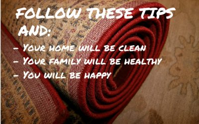 6 Tips for a Cleaner Home and a Healthier Family