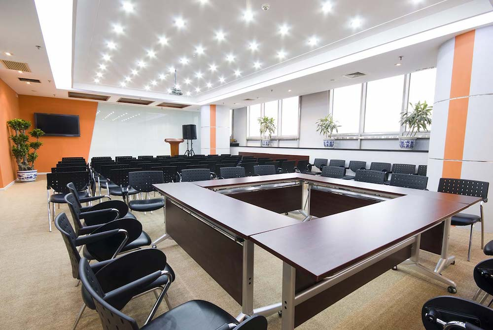 clean commercial conference room in omaha ne