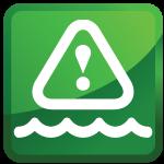 water damage restoration icon