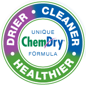 drier cleaner healthier chem-dry badge