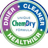 drier cleaner healthier chem-dry badge