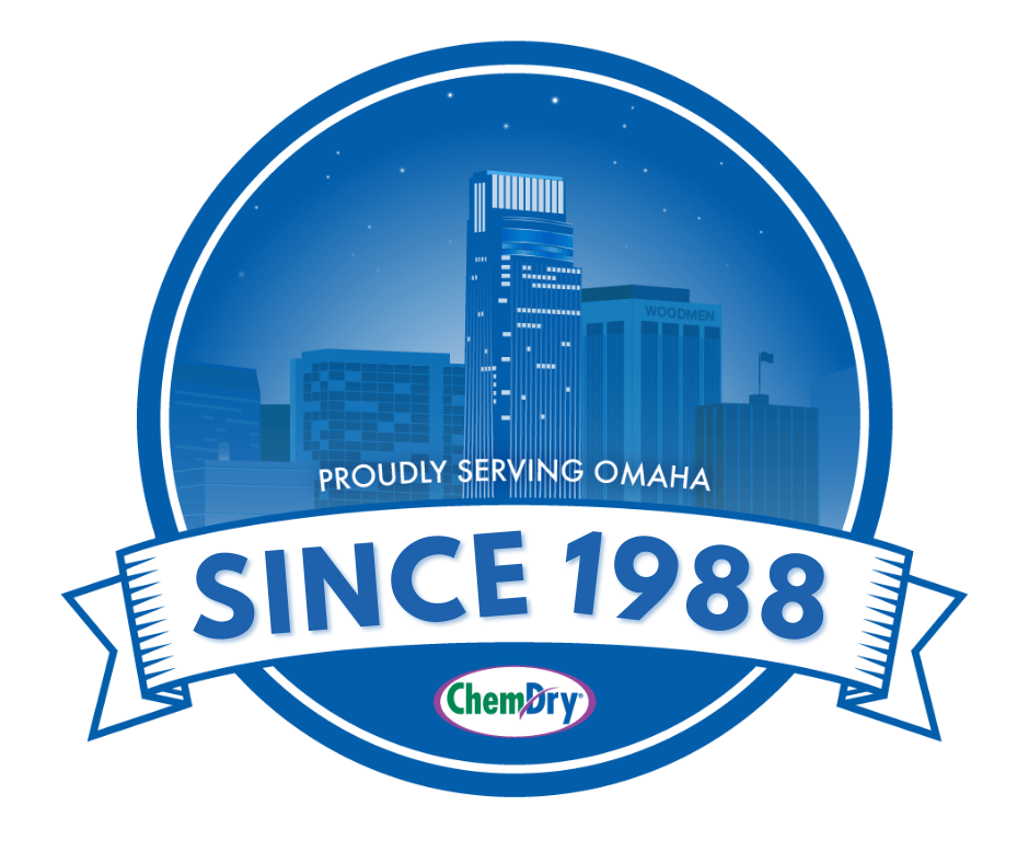 proudly serving omaha since 1988 badge