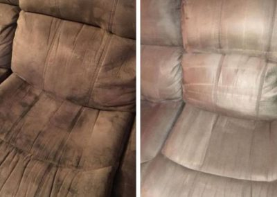 before and after upholstery cleaning in council bluffs